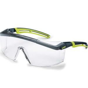 Vernebriller Uvex Astrospec 2.0; klar; svart / grønn
