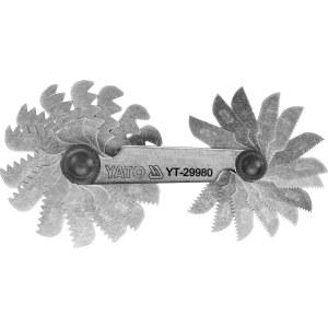 Gjengelære Yato YT-29980; 0,25-6,0 mm