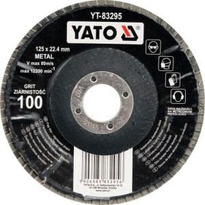 Lamellrondeller Yato YT-83292; P40; 125x22 mm